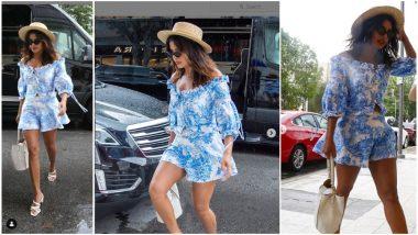 Yo or Hell No! Priyanka Chopra Slips into Dakota Jinx Blue Separates