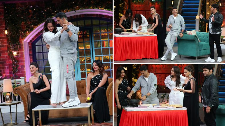 The Kapil Sharma Show: Mission Mangal's Cast Akshay Kumar, Sonakshi