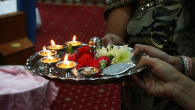 Hartalika Teej 2019 Date and Time: Significance, Story and Celebrations Associated With the Hindu Festival for Married Women