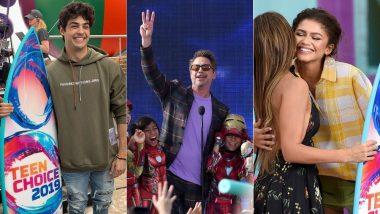 Teen Choice Awards Full Winners List: Robert Downey Jr, Zendaya, Noah Centineo, BTS, Marvel Movies Take Home A Majority of The Trophies!