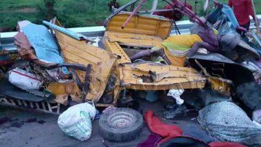 Telangana: Truck Collides With Auto in Mahabubnagar, 12 Killed