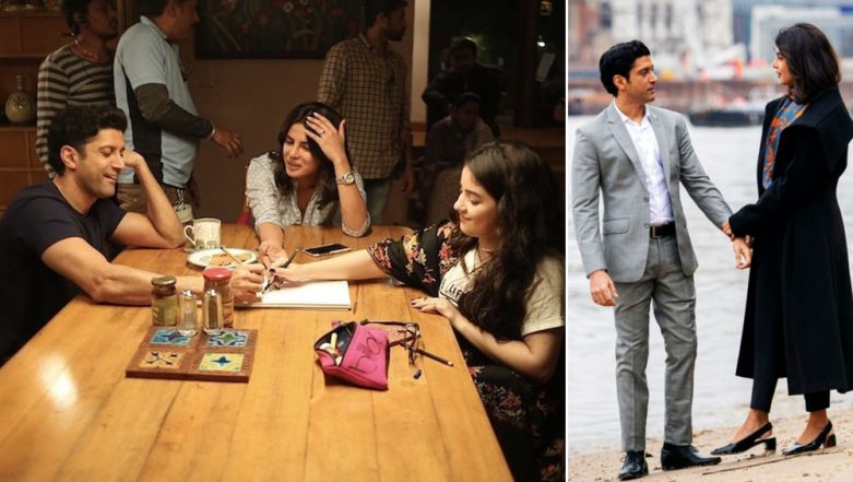Priyanka Chopra's BTS Pics With Farhan Akhtar and Zaira Wasim from The Sky Is Pink Sets Are Sweet!