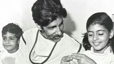 Amitabh Bachchan Celebrates His Second Birthday! This Throwback Pic Shared By Son Abhishek Reveals Why
