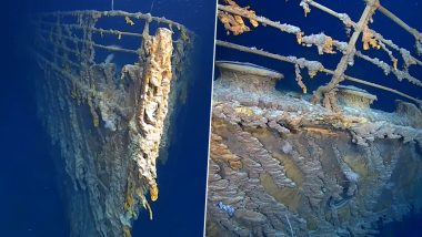 Ever Wondered How Titanic Looks Now? Latest Video From Underwater Exploration in Last 14 Years Reveal The Wreckage!