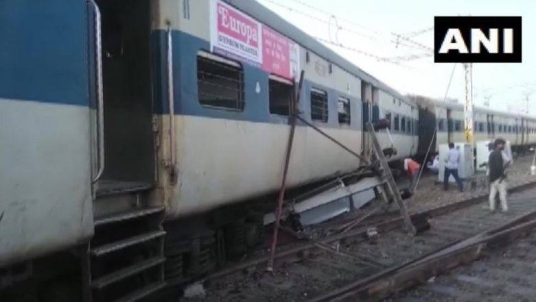 Lucknow-Bound Train Derails at Kanpur Central Railway Station, No Injuries Reported