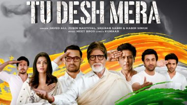 Shah Rukh Khan Shoots for a Special Song 'Tu Desh Mera' with Ranbir Kapoor, Aishwarya Rai Bachchan and Others as a Tribute to the Pulwama Attack Martyrs