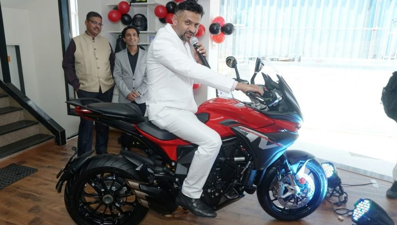MV Agusta Turismo Veloce 800 Motorcycle Launched in India At Rs 18.99 Lakh