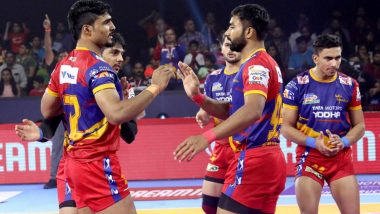 PKL 2019: UP Yoddha Defeat Bengaluru Bulls by 35–33 in a Nail-Biter