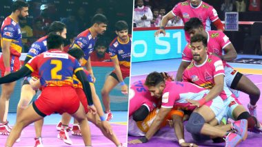 UP Yoddha vs Jaipur Pink Panthers PKL 2019 Match Free Live Streaming and Telecast Details: Watch UP vs JAI, VIVO Pro Kabaddi League Season 7 Clash Online on Hotstar and Star Sports