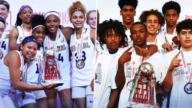Junior NBA Global Championship 2019: US Central Girls and US West Boys Lift Winner's Trophy