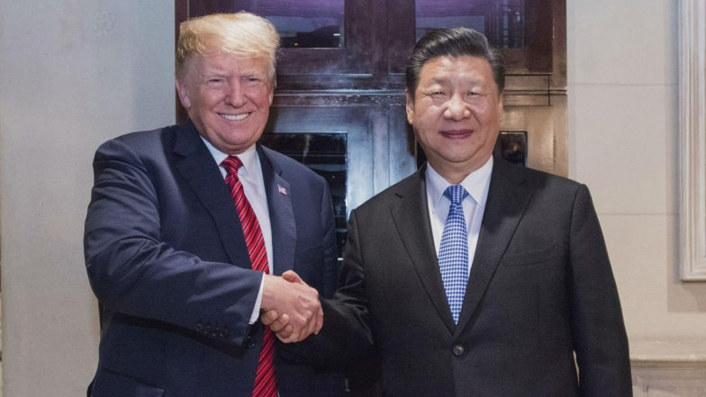 US President Donald Trump Proposes Meeting With Chinese Counterpart Xi Jinping Over Hong Kong Chaos