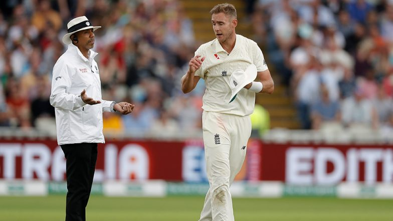 Ashes 2019: England paceman Jimmy Anderson out of second Ashes Test