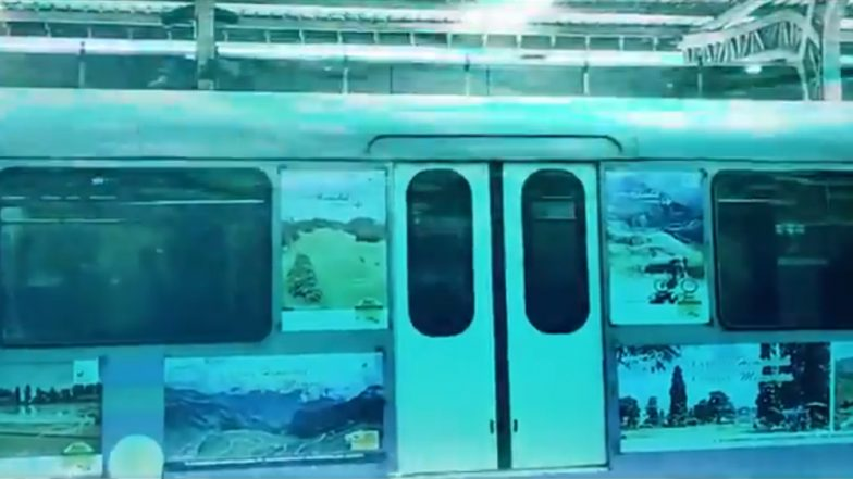 Underwater Train, First in India, to be Operational Under Hooghly River Soon; Piyush Goyal Shares Video