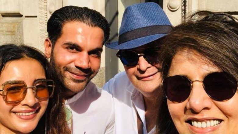 Rishi Kapoor and Neetu Singh 'Bumped' Into the Streets of New York With Rajkummar Rao and Patralekhaa - View Pic