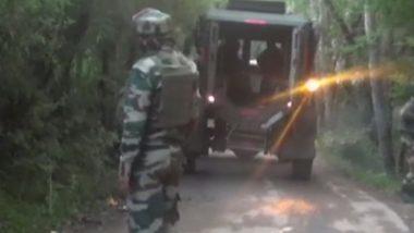 Jammu And Kashmir: Exchange of Fire Underway Between Terrorists & Security Forces in Shopian