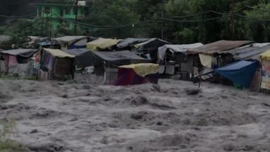 Himachal Pradesh Floods: NH3 Between Manali And Kullu Partially Damaged Due to Heavy Rains