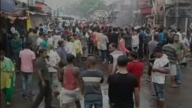 West Bengal: Massive Protests in Asansol by Party Workers After TMC Councillor Shot Dead