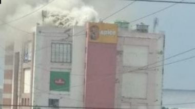 Noida: Fire Breaks Out at Spice Mall, Firefighting Operations Underway