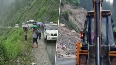 Uttarakhand Rains: Several Roads Including the Uttarkashi-Dehradun Highway Closed Down After Flashfloods & Landslides
