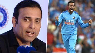 VVS Laxman Calls for Krunal Pandya's Inclusion in ODIs, Calls the All-Rounder a Street-Smart Cricketer