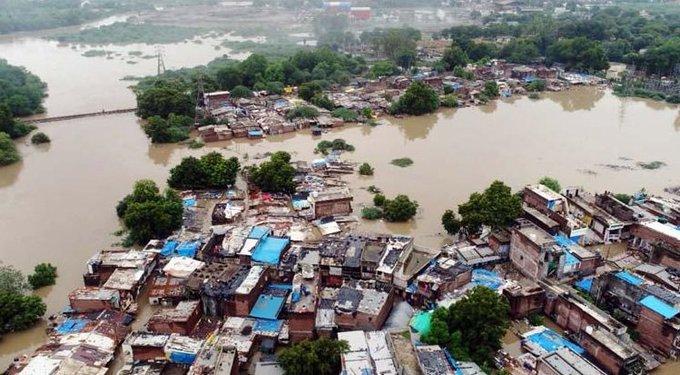 Floods Wreak Havoc Across Maharashtra, Gujarat, Karnataka, Kerala, MP And Other States of India; View Pictures Capturing Devastation