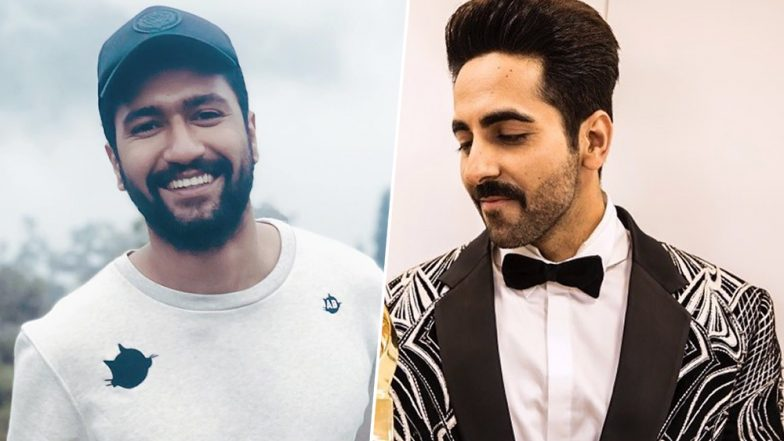 Ayushmann Khurrana and Vicky Kaushal Are Over the Moon As They Receive Appreciation From Amitabh Bachchan on Their National Award Win (View Pics)