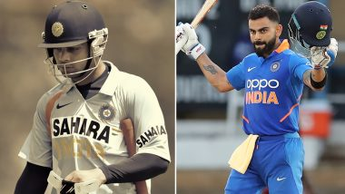Virat Kohli Completes 11 Years in International Cricket, Shares Throwback Photo and Thanks God For Blessings!