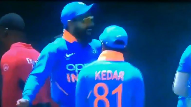 Virat Kohli Dances to Bhangra Tune During IND vs WI 1st ODI Match as Irregular Rain Continues to Affect the Game in Guyana (Watch Video)