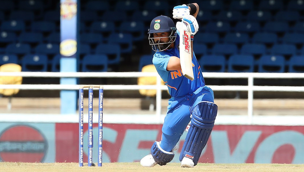 Virat Kohli Slams His 23rd T20I Fifty During India vs West Indies 1st T20I, Becomes Second Batsman to Complete 2500 Runs in the Shortest Format