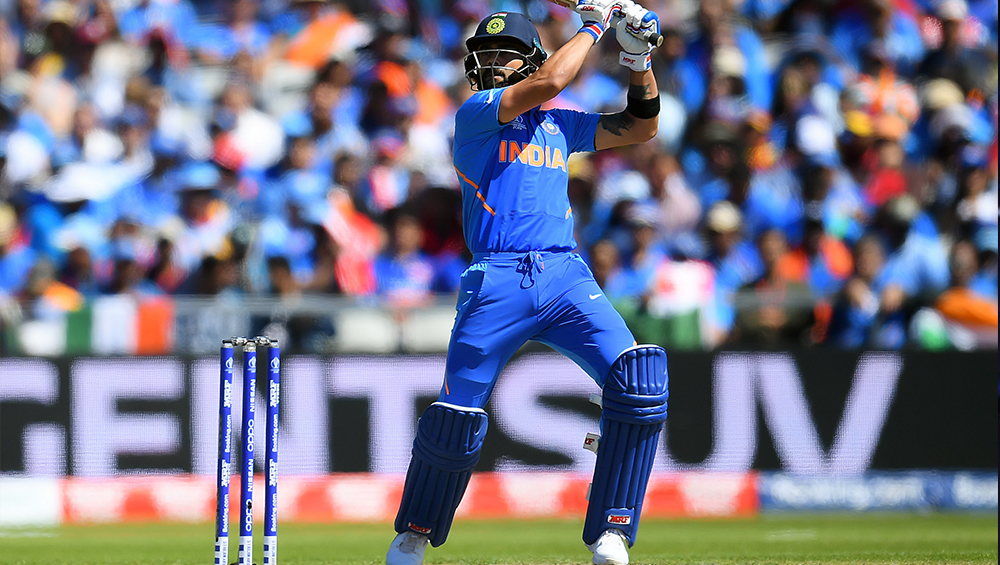 Virat Kohli Mocks Kesrick Williams' Celebration in His Own Unique Style During India vs West Indies 1st T20I 2019 (Watch Video)
