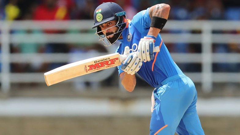 Virat Kohli Becomes the First Batsman to Score 20,000 International Runs in a Decade; Achieves Feat in IND vs WI 3rd ODI