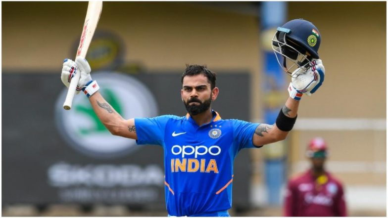 Virat Kohli Reach New Heights with 43rd ODI Century during India vs West Indies 3rd ODI Match