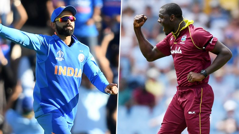 Live Cricket Streaming of India vs West Indies 3rd T20I 2019 Match on DD Sports and SonyLiv: Check Live Cricket Score, Watch Free Telecast of IND vs WI on TV and Online