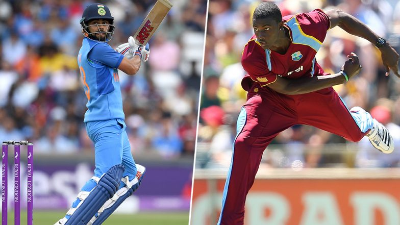 Live Cricket Streaming of India vs West Indies 1st ODI 2019 Match on DD Sports and SonyLiv: Check Live Cricket Score, Watch Free Telecast of IND vs WI on TV and Online