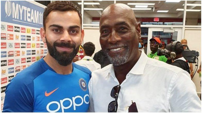 Virat Kohli Meets 'Biggest Boss' Viv Richards Following India's T20 Series Victory against West Indies