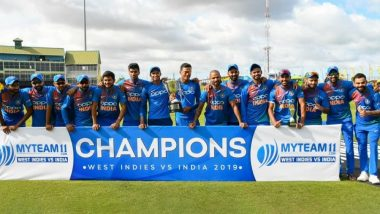 Virat Kohli is Happy and Proud of Team India After Winning T20I Series 3–0 Against West Indies; Shares Picture With His Boys!