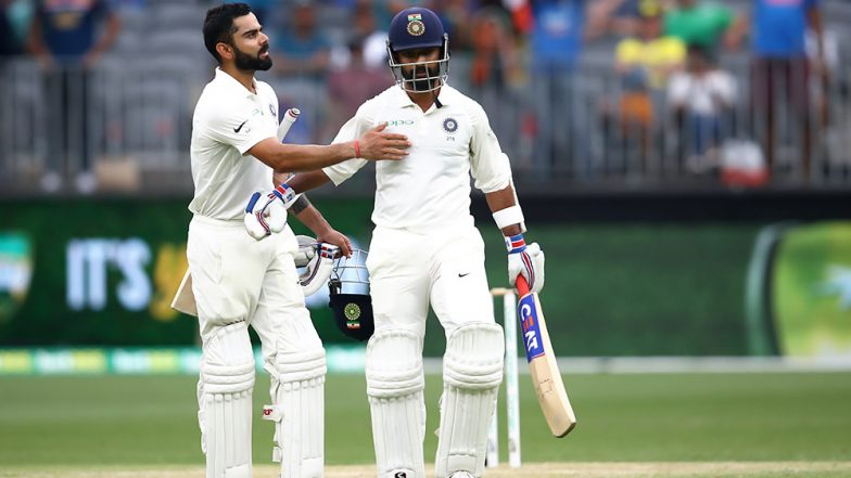 Virat Kohli-Ajinkya Rahane Hit 8th Hundred-Plus Partnership During IND Vs WI 1st Test to Surpass Sachin-Sourav's Record, Storm Twitter With Praises (See Tweets)