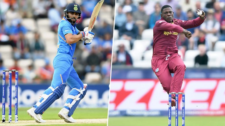 India vs West Indies 2nd ODI 2019: Virat Kohli vs Sheldon Cottrell and Other Exciting Mini Battles to Watch Out for in Trinidad