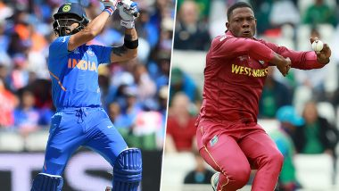 India vs West Indies 3rd T20I 2019: Virat Kohli vs Sheldon Cottrell and Other Exciting Mini Battles to Watch Out for at Guyana
