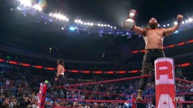 WWE Raw August 19, 2019 Results and Highlights: Seth Rollins and Braun Strowman Bag Tag Team Titles; Samoa Joe Advances Wins King of the Ring Opener (Watch Videos)