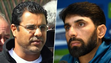 Misbah-Ul-Haq and Waqar Younis Frontrunners for the Position of Head Coach and Bowling Coach of Pakistan Team