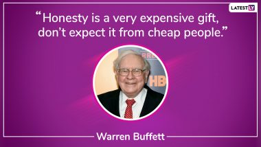 Warren Buffett 89th Birthday: Top Quotes By The Oracle Of Omaha That Will Inspire You to the Core!