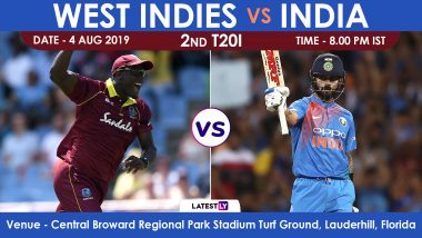 India vs West Indies 2nd T20I 2019 Match Preview, Likely Playing XI: IND Eye Series Win, WI Look to Stay Alive