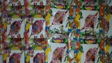 Raksha Bandhan 2019: Markets Flooded with Doraemon And Spider-man Rakhis! (See Pictures)