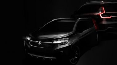 Maruti Suzuki XL6 Crossover Design Sketches Officially Revealed Ahead of India Launch