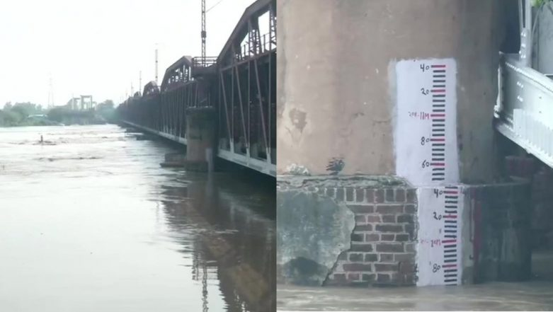 Yamuna Flows Above Danger Mark, Water Level Constant at 206.60 Metres
