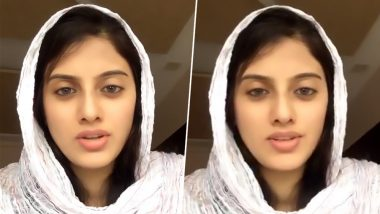 Kashmiri Girl Yana Mirchandani Appeals to International Leaders to Support Modi Government's Move to Scrap Article 370 in J&K in This Video Message, Trolls Pakistani Girl