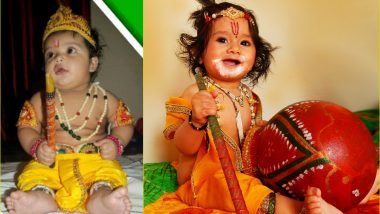 Janmashtami 2020 Last-Minute Dress Ideas for Boys and Girl: Easy Way to Dress Your Kids as Little Bal Gopal and Radha on Gokulashtami