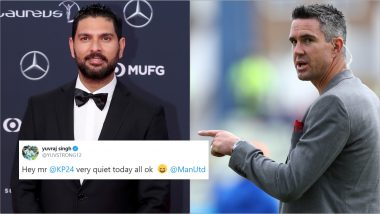Yuvraj Singh Pokes Fun at Kevin Pietersen After Manchester United Give Chelsea a 4–0 Drubbing in Premier League Football Match
