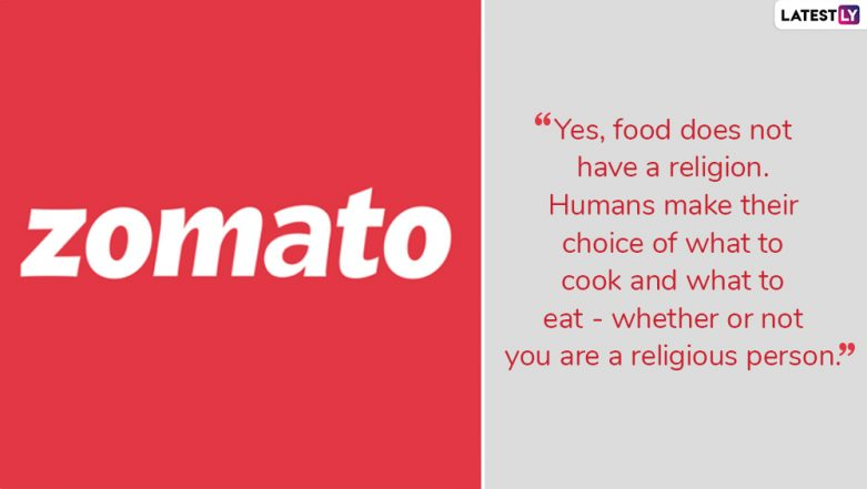 Zomato Defends Stand on Halal Meat with 'Food for Thought' Tweet, Twitter Debates Get Spicier